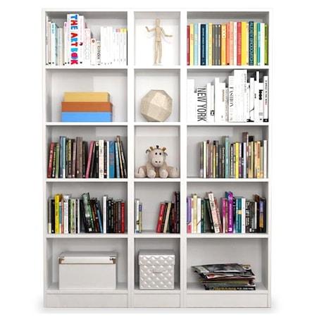Kitaplık Modellerinde Zengin Koleksiyon