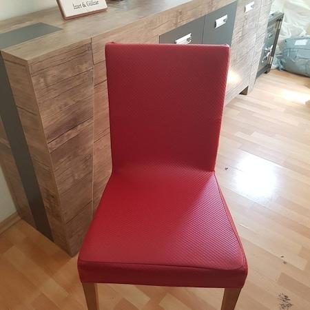Deri Kapitone Sandalye Kilifi Sik Gorunum