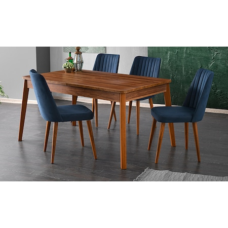 Ceviz Renk Masa Sandalye Takimi Modelleri Fiyatlari