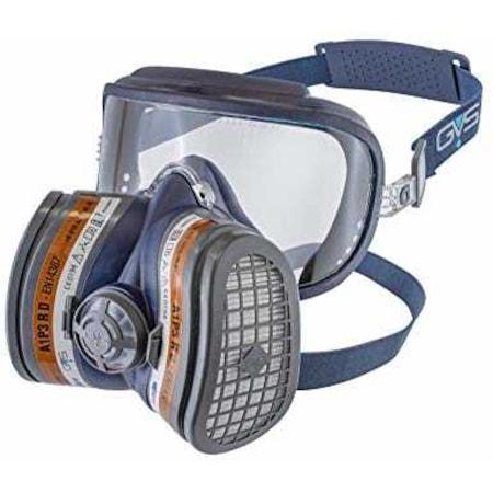 Tam Kapsamlı Boya Gaz Ve Toz Maskesi Ve Filtre Seti N11com