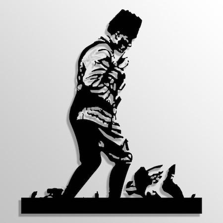 Metal Tablo Ataturk Kocatepede 44x50 Cm N11 Com