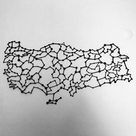 Türkiye Haritası Duvar Tabloları Tablo Modelleri N11com