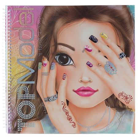Top Model Boyama Kitabı El Dizayn N11com