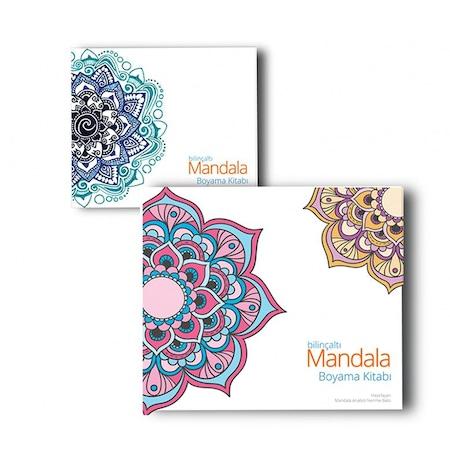 Bilinçaltı Mandala Boyama Kitabı N11com
