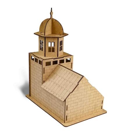 3d Kız Kulesi Ahşap Boyama Maketi N11com
