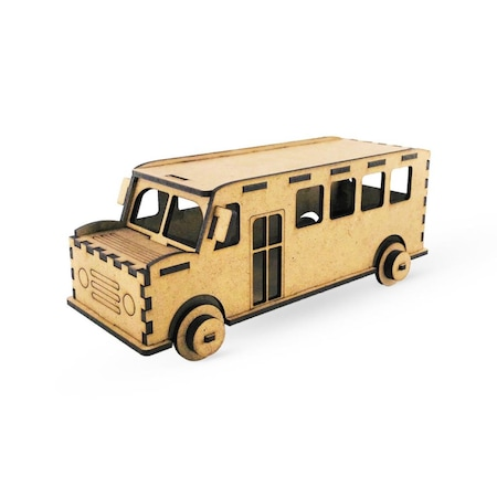Ahsap Boyama Maketi Otobus N11 Com