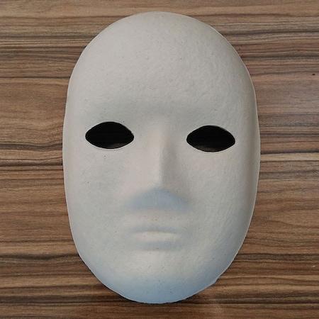 Boyama Maskesi Kagit Karton Maske Model 2 N11 Com