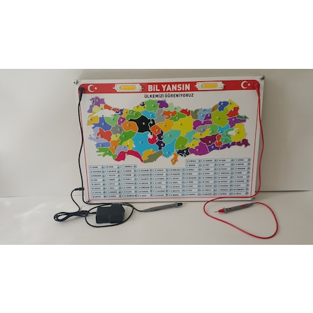 Elektronik Türkiye Haritası Bil Yansın N11com