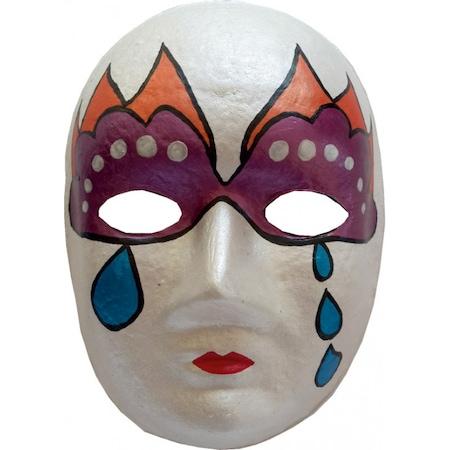 Maske Boyama Seti Egitici Maske Boyama Maske Firca Ve Boya