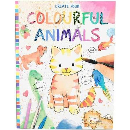 Top Model Renkli Hayvanlar Boyama Kitabi 8916 N11 Com
