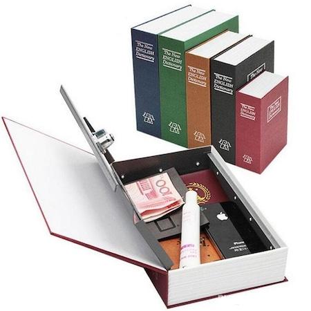 Kitap Görünümlü Mini Gizli Kasa Para Mücevher Altın Kumbara Kasa Fiyatları  ve Özellikleri