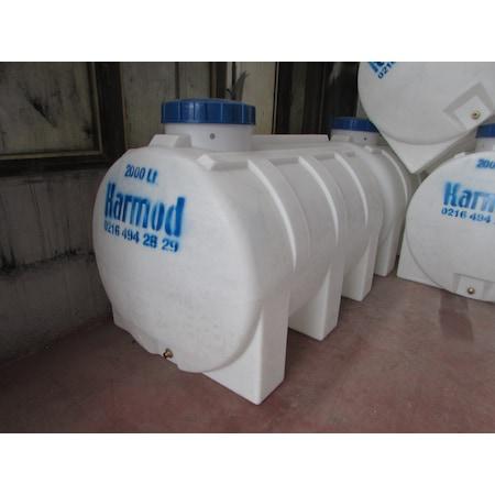 2 ton yatay beyaz plastik su deposu ucretsiz kargo karmod
