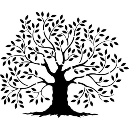 Ağaç Deseni Stencil Boyama şablonu N11com