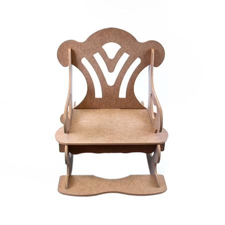 Ahşap Boyama Hobi Sallanan Sandalye 54 76 73 Cm N11com