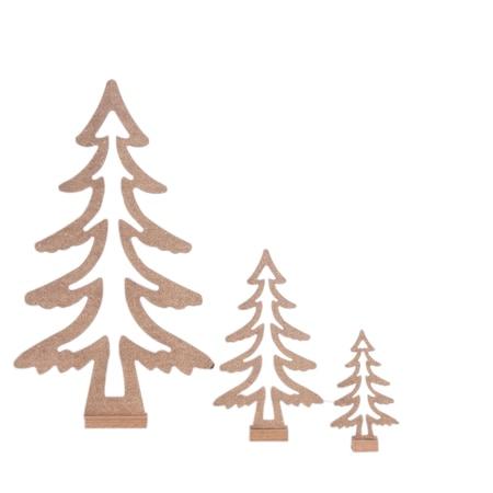 Ahşap Hobi Boyama 3boy çam Ağacı Seti N11com