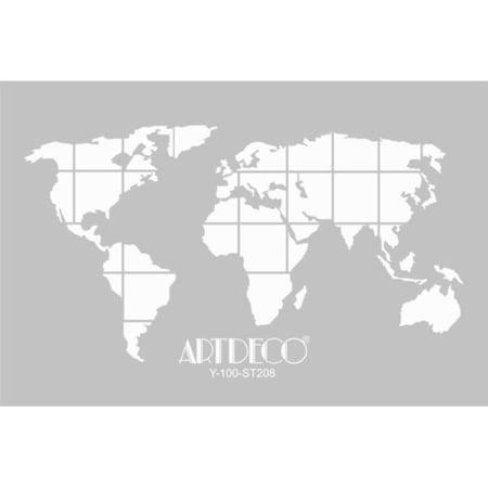 Dünya Haritasi Sanatsal Malzemeler N11com
