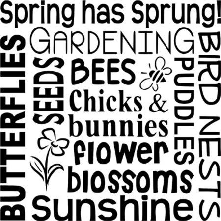 Bahar çiçek Böcek Stencil Boyama şablonu N11com
