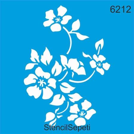 Cicek Deseni Stencil Ahsap Boyama Sablonu N11 Com