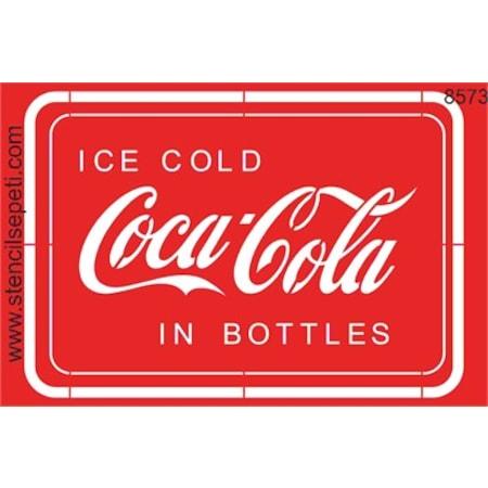 Coca Cola Stencil Boyama şablonu N11com