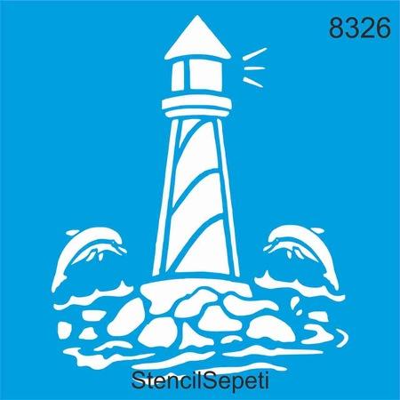 Deniz Feneri Stencil Ahsap Boyama Sablonu N11 Com