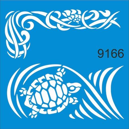 Deniz Kaplumbagasi Stencil Ahsap Boyama Sablonu N11 Com