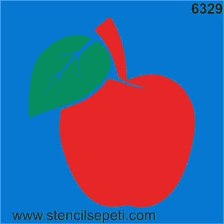 Elma Stencil Boyama şablonu N11com