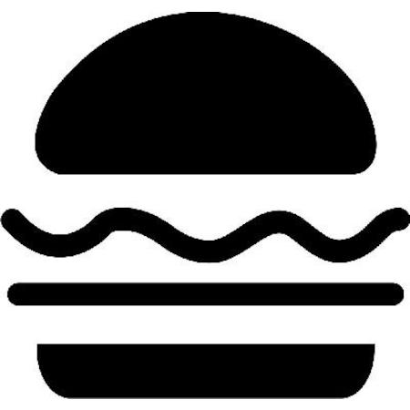 Hamburger Stencil Boyama şablonu N11com
