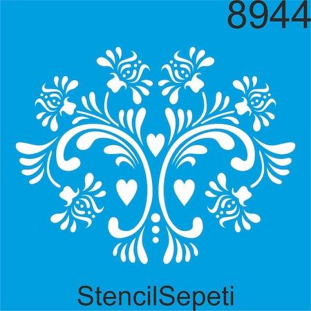 Kalpli çiçek Deseni Stencil Boyama şablonu N11com