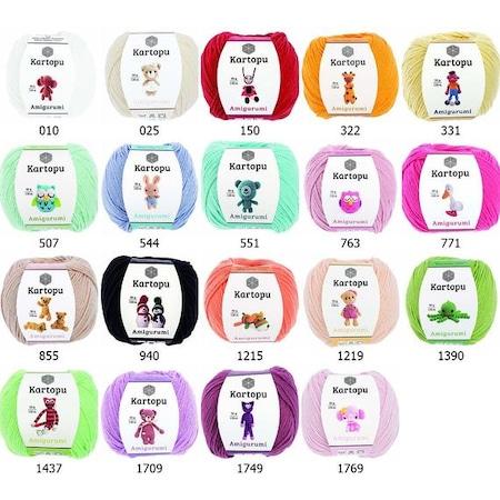My Yarnery - All 25 shades of Kartopu Amigurumi now back... | Facebook | 450x450