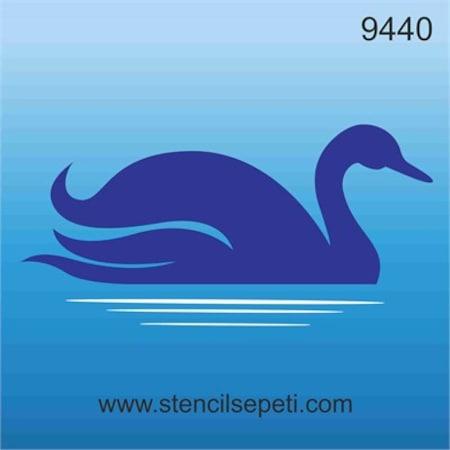 Kuğu Stencil Boyama şablonu N11com