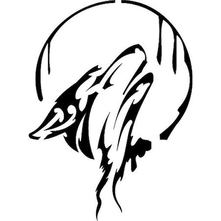 Kurt Deseni Stencil Boyama şablonu N11com