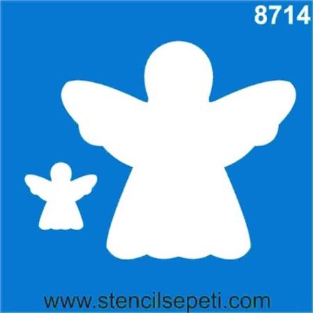 Melek Stencil Boyama şablonu N11com