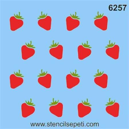 Mini çilek Stencil Boyama şablonu N11com