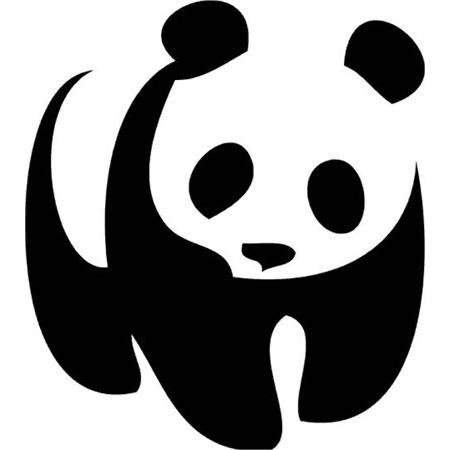 Panda Stencil Boyama şablonu N11com