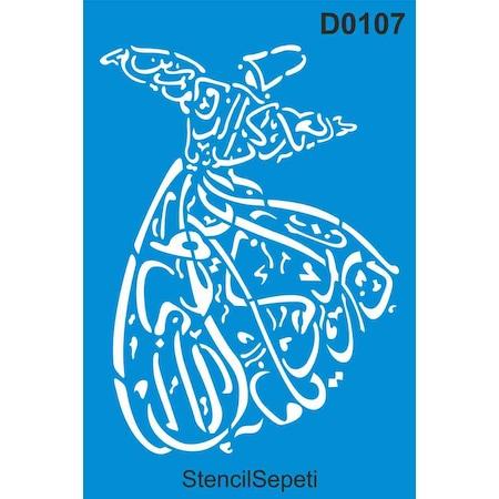 Semazen Stencil Ahsap Boyama Sablonu N11 Com