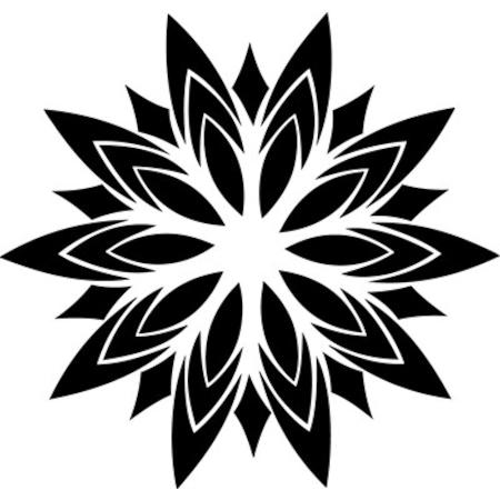 Stilize çiçek Deseni Stencil Boyama şablonu N11com
