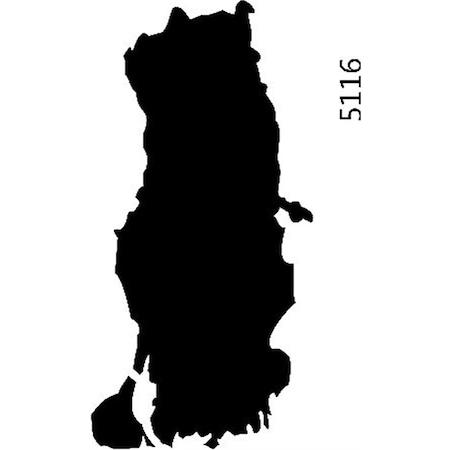 Turkiye Haritası Stencil Boyama şablonu N11com