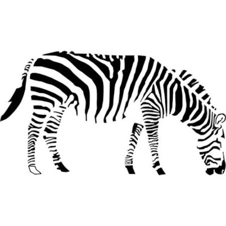 Zebra Stencil Boyama şablonu N11com