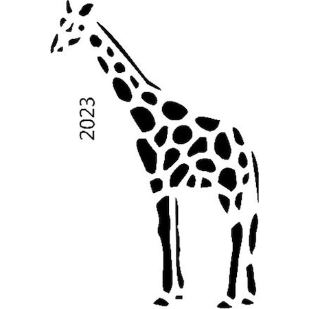 Zürafa Stencil Boyama şablonu N11com