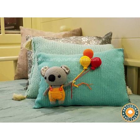 Amigurumi Türkiye-Panda Yastık Tarifi   450x450