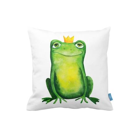 Bc Home Kurbağa Prens Dekoratif Yastık Kılıfı N11com