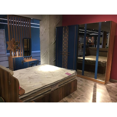 Yeni Model Versace Yatak Odasi Takimi Mystl
