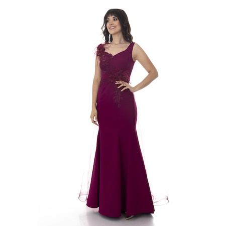 bbde58315785c Uzun Tül Abiyeler 2019 Abiye & Gece Elbise Modelleri - n11.com