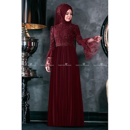 47e7cb75fbdbd Tesettür Abiye Elbise Tesettür Giyim - n11.com - 45/50