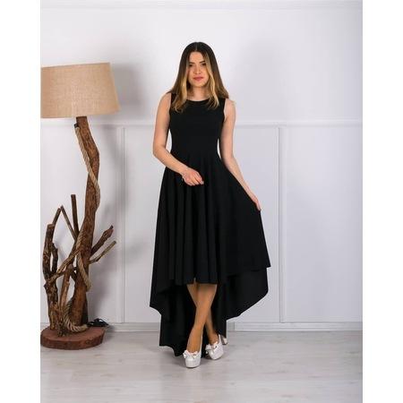 ab844031f1c24 Barevsu Scuba Kumaş Uzun Kadın Abiye Elbise 05 - n11.com