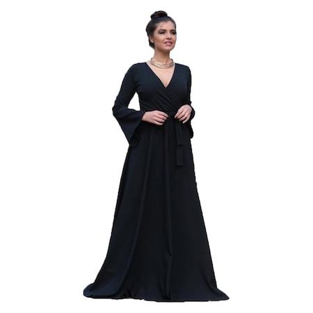 0ce01dcc72dfc Kumaş Elbiseler 2019 Abiye & Gece Elbise Modelleri - n11.com - 4/4