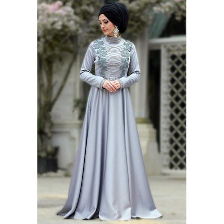 3b3f10c7682b6 2019 Tesettür Abiye Elbise Modelleri & Fiyatları - n11.com