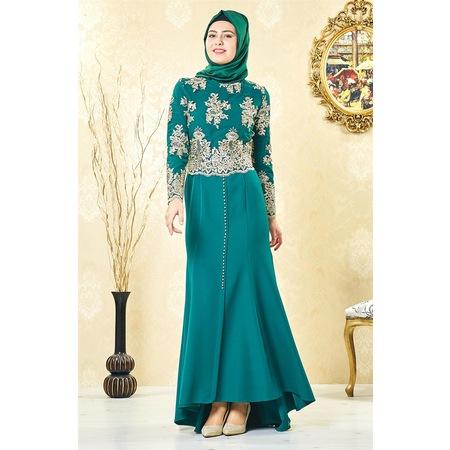 decf76387183d Lady Nur 2019 Tesettür Abiye Elbise Modelleri & Fiyatları - n11.com