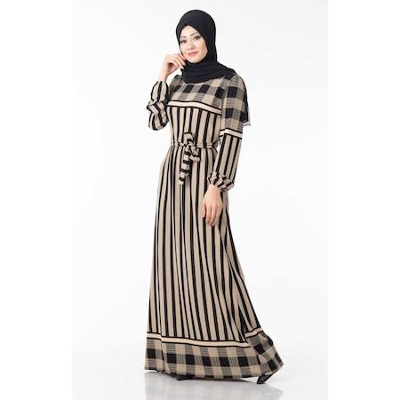 745b4e714643f 2019 Tesettür Abiye Elbise Modelleri & Fiyatları - n11.com