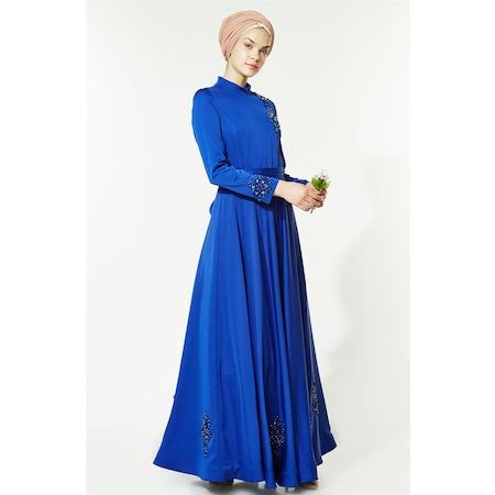 bcf9572f42327 2019 Tesettür Abiye Elbise Modelleri & Fiyatları - n11.com - 11/49